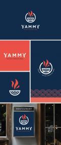 Logo # 1056313 voor ontwerp een horeca logo voor een nieuw te openen asian korean bbq restaurant wedstrijd