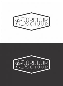 Logo # 1127594 voor Borduurschuur wedstrijd