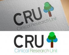 Logo # 610270 voor Ontwerp een zakelijk en rustig  logo voor de afdeling Clinical Research Unit (afkorting: CRU), een afdeling binnen het AMC; een groot academisch ziekenhuis in Amsterdam. wedstrijd