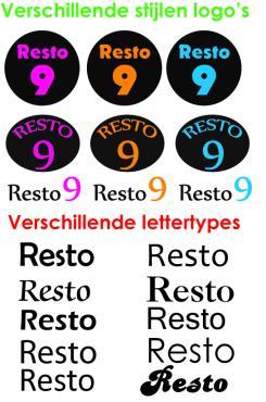 Logo # 251 voor Logo voor restaurant resto 9 wedstrijd