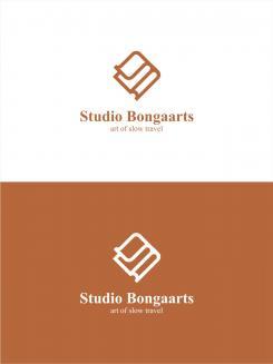 Logo # 1238114 voor Logo voor Tassen en lederwaren designer  Studio Bongaarts in Amsterdam  Steekwoorden  onderweg zijn  moderne retro wedstrijd