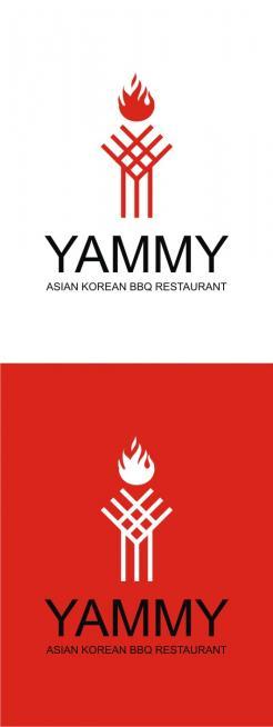 Logo # 1056841 voor ontwerp een horeca logo voor een nieuw te openen asian korean bbq restaurant wedstrijd