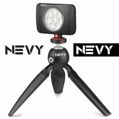 Logo # 1235335 voor Logo voor kwalitatief   luxe fotocamera statieven merk Nevy wedstrijd