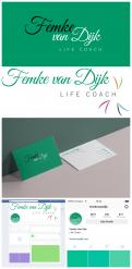 Logo # 980384 voor Logo voor Femke van Dijk  life coach wedstrijd