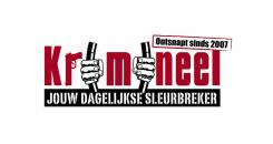 Logo # 594 voor Weblog 'Krimineel' jouw dagelijkse sleur breker - LOGO contest wedstrijd
