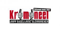 Logo # 596 voor Weblog 'Krimineel' jouw dagelijkse sleur breker - LOGO contest wedstrijd