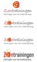 Logo # 169795 voor Zontrainingen, trainingen voor de kinderopvang wil het logo aanpassen wedstrijd