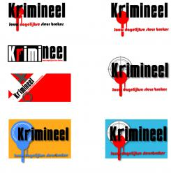 Logo # 586 voor Weblog 'Krimineel' jouw dagelijkse sleur breker - LOGO contest wedstrijd