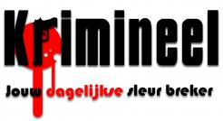 Logo # 535 voor Weblog 'Krimineel' jouw dagelijkse sleur breker - LOGO contest wedstrijd