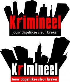 Logo # 584 voor Weblog 'Krimineel' jouw dagelijkse sleur breker - LOGO contest wedstrijd