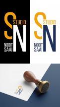Logo # 1074786 voor Studio Nooitsaai   logo voor een creatieve studio   Fris  eigenzinnig  modern wedstrijd