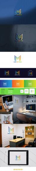 Logo # 1248455 voor fris kleurrijk logo met geel groen blauw voor mijn zzp bedrijf wedstrijd