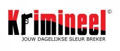Logo # 530 voor Weblog 'Krimineel' jouw dagelijkse sleur breker - LOGO contest wedstrijd