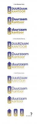 Logo # 1141127 voor Logo ontwerpen voor bedrijf 'Duurzaam kantoor be' wedstrijd
