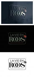 Logo # 1146445 voor Ontwerp een romantisch  grafisch logo voor B B La Vie en Roos wedstrijd