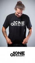 Logo # 951339 voor ONE PERCENT CLOTHING kledingmerk gericht op DJ's   artiesten wedstrijd