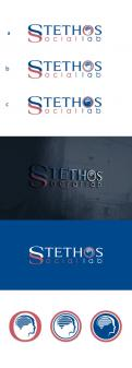 Logo design # 934416 for logo of the new company: Stethos Social Lab ( new subsidiary of Stethos Group) contest