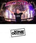Logo # 951491 voor ONE PERCENT CLOTHING kledingmerk gericht op DJ's   artiesten wedstrijd