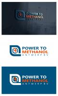 Logo design # 1088541 for Company logo for consortium of 7 players who will be building a  Power to methanol  demonstration plant for their legal entity  Power to Methanol Antwerp BV  contest