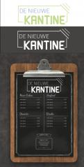 Logo design # 1154757 for Design a logo for vegan restaurant   catering 'De Nieuwe Kantine' contest