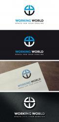 Logo # 1161545 voor Logo voor uitzendbureau Working World wedstrijd