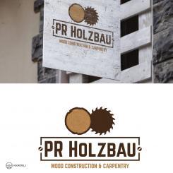 Logo  # 1166245 für Logo fur das Holzbauunternehmen  PR Holzbau GmbH  Wettbewerb