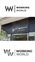 Logo # 1168255 voor Logo voor uitzendbureau Working World wedstrijd