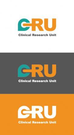 Logo # 611730 voor Ontwerp een zakelijk en rustig  logo voor de afdeling Clinical Research Unit (afkorting: CRU), een afdeling binnen het AMC; een groot academisch ziekenhuis in Amsterdam. wedstrijd