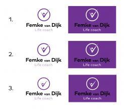 Logo # 963792 voor Logo voor Femke van Dijk  life coach wedstrijd