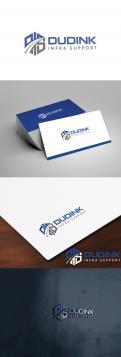 Logo # 991205 voor Update bestaande logo Dudink infra support wedstrijd