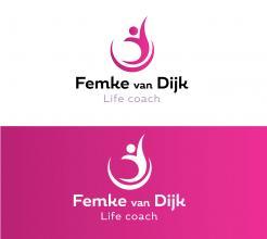 Logo # 964030 voor Logo voor Femke van Dijk  life coach wedstrijd