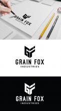Logo design # 1183832 for Global boutique style commodity grain agency brokerage needs simple stylish FOX logo contest