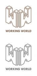 Logo # 1165664 voor Logo voor uitzendbureau Working World wedstrijd