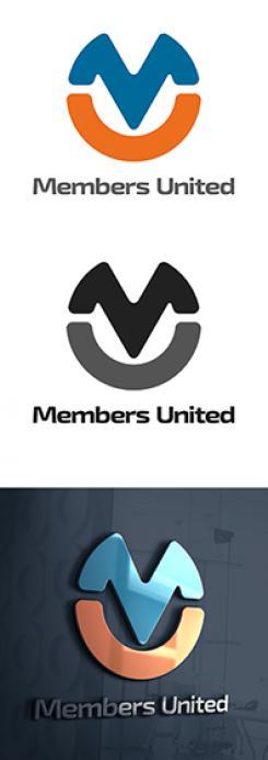 Logo design # 1124234 for MembersUnited contest