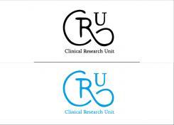 Logo # 611855 voor Ontwerp een zakelijk en rustig  logo voor de afdeling Clinical Research Unit (afkorting: CRU), een afdeling binnen het AMC; een groot academisch ziekenhuis in Amsterdam. wedstrijd