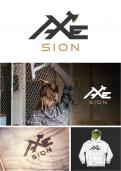 Logo & stationery # 1150495 for Create our logo and identity! We are Axe Sion! contest