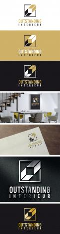 Logo & stationery # 1151060 for logo   corporate identity for a firm in interior design contest