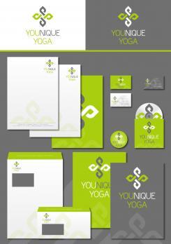 Logo & Corp. Design  # 504860 für Entwerfen Sie ein modernes+einzigartiges Logo und Corp. Design für Yoga Trainings Wettbewerb