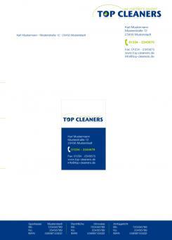 Geschäftsausstattung  # 55018 für Überzeugendes Logo & Geschäftsausstattung für Reinigungsfirma Wettbewerb