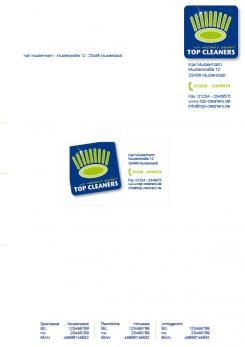Geschäftsausstattung  # 55021 für Überzeugendes Logo & Geschäftsausstattung für Reinigungsfirma Wettbewerb