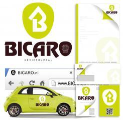 Logo & Huisstijl # 241585 voor Ontwerp een logo, briefpapier, visitekaartjes en favicon voor adviesbureau BICARO wedstrijd