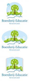 Logo & Huisstijl # 222135 voor Logo & huisstijl voor Boerderij-educatie Rivierenland, samenwerkingsverband agrarisch ondernemers die lesgeven aan basisschoolklassen op hun bedrijf. wedstrijd