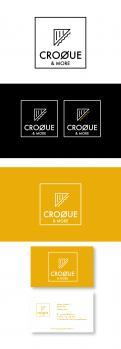 Logo & Huisstijl # 614167 voor ontwerp voor een hippe croquebar (ontbijt -en lunch en koffie en gebak) in stoere industriele stijl met scandinavische tinten. wedstrijd