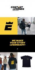 Logo & Huisstijl # 1220976 voor Rebranding van logo en huisstijl voor creatief bureau Content Legends wedstrijd