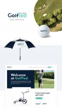Logo & stationery # 1170041 for Design a logo and corporate identity for GolfTed   electric golf trolleys contest