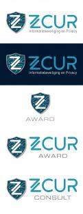 Logo & Huisstijl # 1005360 voor Logo   Huisstijl voor bedrijf Informatiebeveiliging en Privacy  ZCUR  wedstrijd