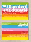 Logo & Huisstijl # 223227 voor Logo & huisstijl voor Boerderij-educatie Rivierenland, samenwerkingsverband agrarisch ondernemers die lesgeven aan basisschoolklassen op hun bedrijf. wedstrijd