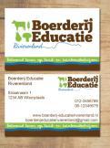 Logo & Huisstijl # 223939 voor Logo & huisstijl voor Boerderij-educatie Rivierenland, samenwerkingsverband agrarisch ondernemers die lesgeven aan basisschoolklassen op hun bedrijf. wedstrijd