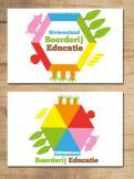Logo & Huisstijl # 222155 voor Logo & huisstijl voor Boerderij-educatie Rivierenland, samenwerkingsverband agrarisch ondernemers die lesgeven aan basisschoolklassen op hun bedrijf. wedstrijd