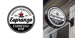 Logo & Huisstijl # 1155629 voor Ontwerp een korte  krachtige en pakkende bedrijfsnaam voor Espressobar! wedstrijd